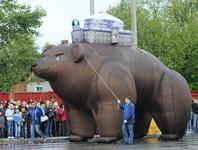 Карнавал - парад в городе Югорске. 2013 г.